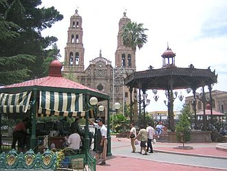 Chihuahua City - Chihuahua City in mid-May 2005