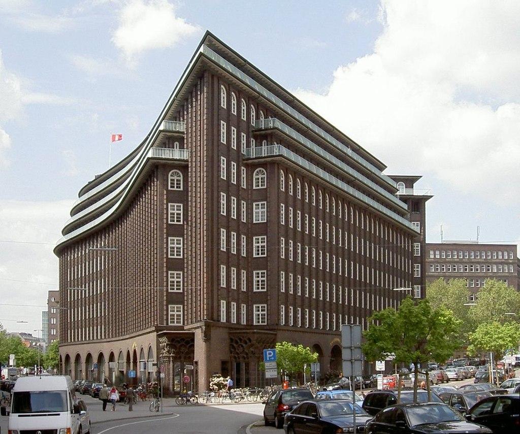 Chilehaus im Kontorhausviertel (Hamburg)