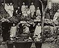Chinesischer Photograph um 1865 - Mönche in einsamer Grotte, Peking (Zeno Fotografie).jpg