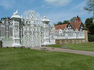 Davies brothers of Bersham - Image: Chirk Castle Fence