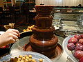 Chocolate fountain in hk.jpg