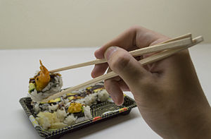 Chopsticks - Chopsticks in use
