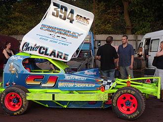 BriSCA Formula 1 Stock Cars - The BriSCA Formula 1 Stock Car of Chris Clare