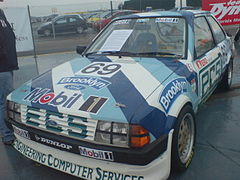 Ford Escort BTCC Chrisa Hodgettsa