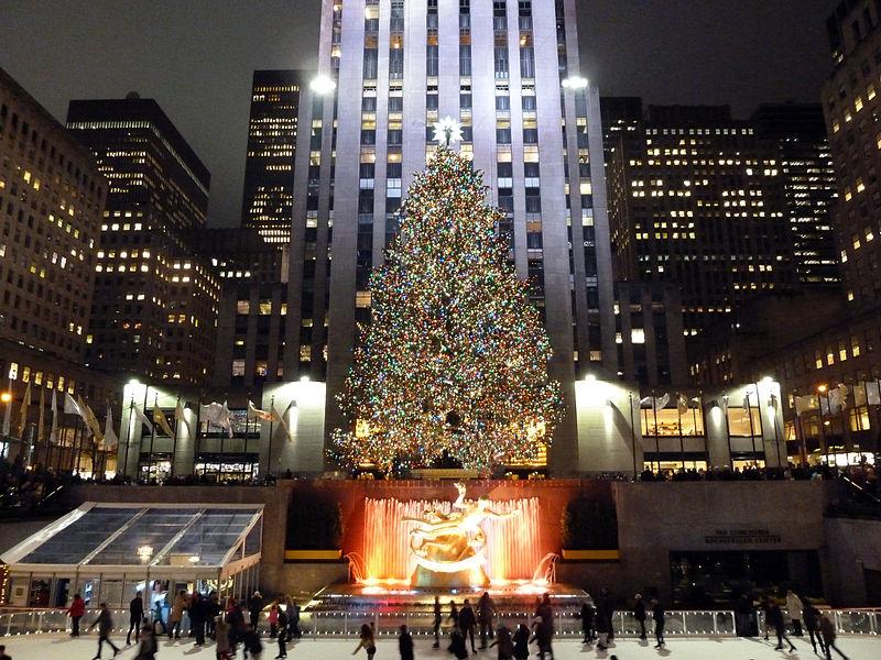 File christmas rockefeller plaza 11655103956 jpg wikimedia commons - Weihnachtsbaum rockefeller center ...