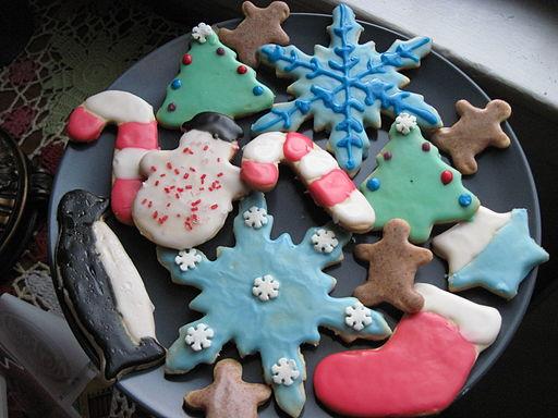 Christmas sugar cookies, January 2010