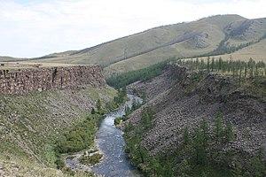 Chuluut River - the Chuluut Canyon, between Tariat and Öndör-Ulaan, Arkhangai