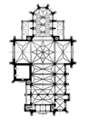 Church of Saints Olga and Elizabeth, Lviv (plan, T. Talowski, proj. «Si Deus»).png