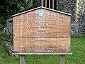 Church of St Nicholas, Ash-with-Westmarsh, Kent - church notice board.jpg