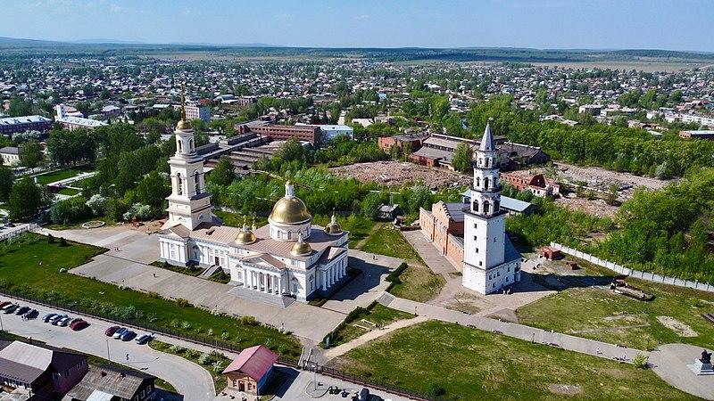 Ансамбль собора и башни