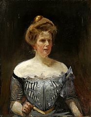 Portrait of Maria Vasilyevna, Baroness Stackelberg.