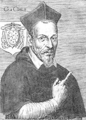 Cinzio Passeri Aldobrandini - Engraving of Cinzio Aldobrandini