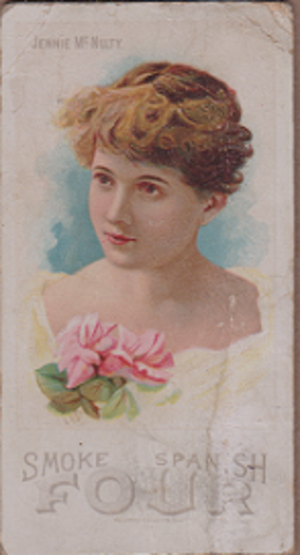 Jennie McNulty - Jennie McNulty, 1890
