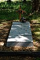 City of London Cemetery Alvin Brown grave cross concrete ledger slab 1.jpg
