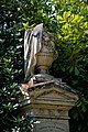 City of London Cemetery monumental urn and plinth 3.jpg