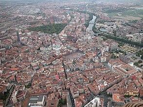 Ciudad de Valladolid, desde el aire.jpg