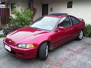 Civic Coupé 1994 Quinta Generación