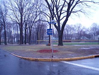 Washington Township, Bergen County, New Jersey - Baseball field at Clark field