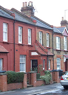 Homes were classified by size on ALGDC estates; this is the smallest on the Noel Park estate, London