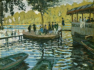 1869 in art - Monet – La Grenouillère