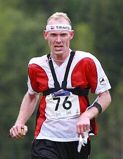 Claus Bloch Danish orienteering competitor