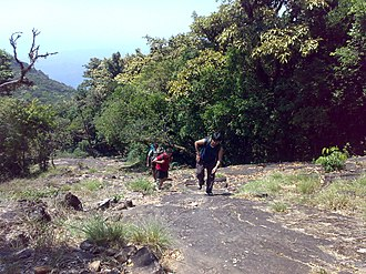 Pushpagiri (mountain) - Trekking Cliff1
