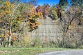 Cliffs at Zoar Valley across from Forty Road parking area, Town of Otto, New York, October 2012.jpg