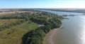 Clinton Lake Rowing Center Drone Shot.png