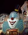 Clown face on a casino, Las Vegas, Nevada LCCN2011636121.tif