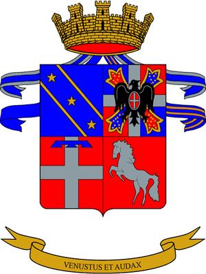 Vittorio Veneto Armored Brigade - Image: Co A mil ITA rgt cavalleria 02
