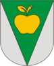Coat of Arms of Fanipal, Belarus.png