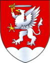 Coat of Arms of Krasnasielski, Belarus.png