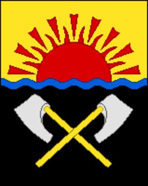 Mamonovo - Image: Coat of Arms of Mamonovo (Kaliningrad oblast)