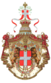 Coat of arms of the king of Italy (1890).png