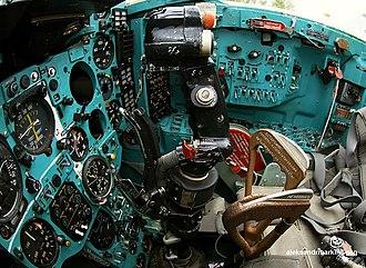 Mikoyan MiG-27 - Cockpit