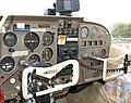 Cockpit of cessna 172e g-asss of 1964 arp.jpg