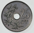 Coin BE 25c Albert I rev FR 43.png