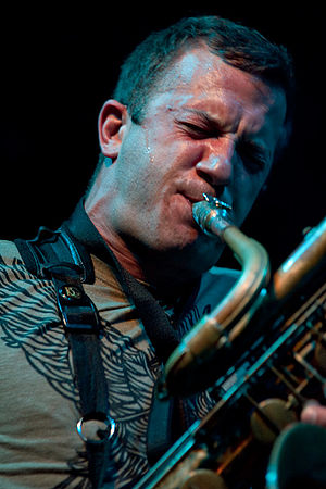 English: Colin Stetson, moers festival 2010