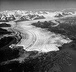 Columbia Glacier, Calving Terminus with Oblique View of Valley Glacier, August 25, 1969 (GLACIERS 1039).jpg