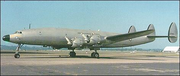 A Lockheed Constellation with a triple tail