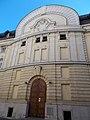 Comedy Theatre. Listed -8361. Vígszínház street side. - Budapest.JPG