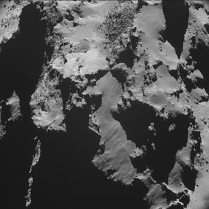 Comet 67P on 28 October 2014 NavCam A.jpg