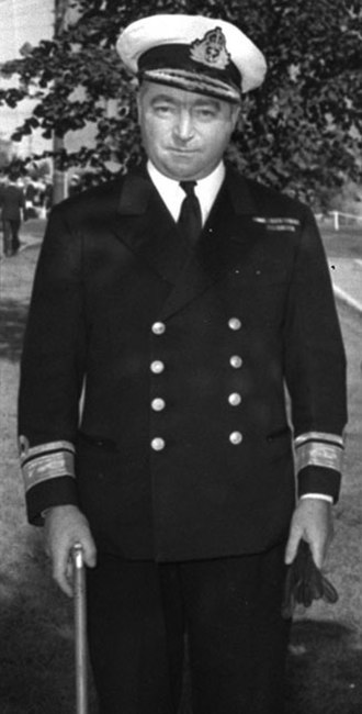 Commander of the Royal Canadian Navy - Image: Commodore H.E. Reid RCN