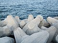 Concrete seawall Shangri-La Barr Al Jissah Resort & Spa 01.jpg