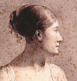Constance Marie Charpentier - Self portrait