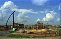 Convention Centre Complex Under Construction - Science City - Calcutta 1994-10-17 080.JPG