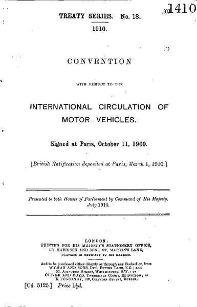 File:Convention internationale relative à la Circulation des Automobiles, Paris, 1909.pdf