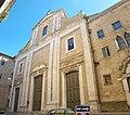 Convento Carmelitani(facciata della chiesa del Carmine) - Fermo (Marche), Italy.jpg