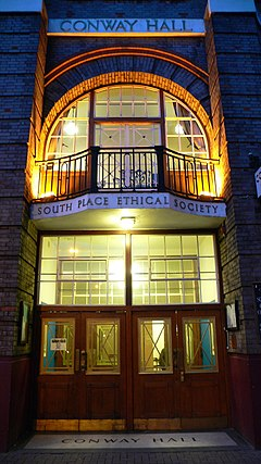 Conway Hall South Place Ethical Society night.jpg