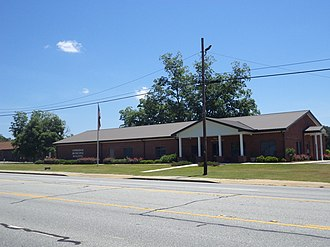 Coolidge, Georgia - Coolidge City Hall Municipal Building